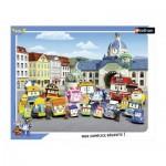 Nathan-86123 Puzzle Cadre - Robocar Poli