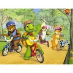 Puzzle  Nathan-86312 Franklin : Promenade en vélo