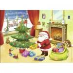 Puzzle  Nathan-86468 Père Noël