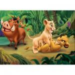 Puzzle  Nathan-86558 Le Roi Lion et ses Amis