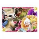 Puzzle  Nathan-86638 Disney Fairies - Découverte des Créatures