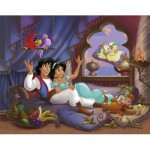 Puzzle  Nathan-86688 Aladdin : Histoire d'Amour