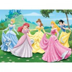 Puzzle  Nathan-86844 Dans le jardin des Princesses