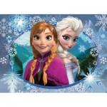 Puzzle  Nathan-86858 La Reine des Neiges : Anna et Elsa