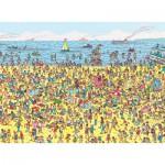 Puzzle  Nathan-86947 Où est Charlie ? Charlie à la plage