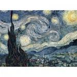 Puzzle  Nathan-87105 Vincent Van Gogh - Nuit Étoilée sur le Rhône