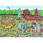 Puzzle  Nathan-87114 Où est Charlie ? A la Fête Foraine