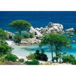 Puzzle  Nathan-87459 Plage de Palombaggia / Corse du Sud