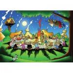 Puzzle  Nathan-87737 Astérix et Obélix : Le banquet