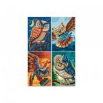 Puzzle  Noris-6060-38021 4 x 200 Pièces - Oiseaux de la Sagesse