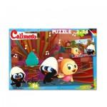 Noris-6060-38060 2 Puzzles - Caliméro