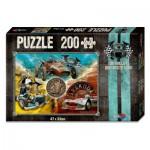 Noris-606031245 V8 Puzzle Du willst der Beste sein - Les Bolides
