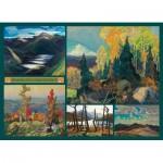 Puzzle  Cobble-Hill-51012 Franklin Carmichael - Collage - Carmichael Collection