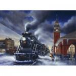 Puzzle  Cobble-Hill-51717 Lance Russwurm : De retour pour Noël