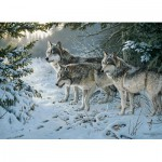 Puzzle  Cobble-Hill-51738 Persis Clayton Weirs : Le Sentier des Loups