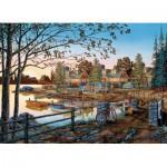 Puzzle  Cobble-Hill-51739 William Kreutz : Loin de tout