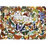 Puzzle  Cobble-Hill-51761 Papillons