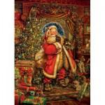 Puzzle  Cobble-Hill-51784 Père Noël