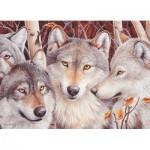 Puzzle  Cobble-Hill-51791 Meute de Loups