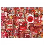 Puzzle  Cobble-Hill-51861 Shelley Davies: Red