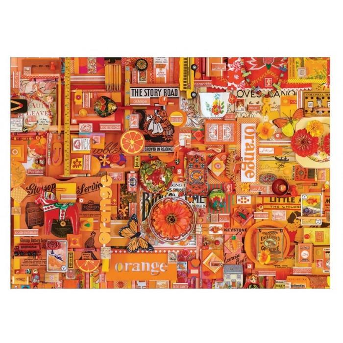 Shelley Davies: Orange