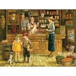 Puzzle  Cobble-Hill-52057 Pièces XXL - Lee Dubin : L'Epicerie