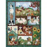 Puzzle  Cobble-Hill-52110 Pièces XXL - McKenna Ryan - Back on the Farm