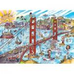 Puzzle  Cobble-Hill-53504 DoodleTown : San Francisco