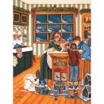 Puzzle  Cobble-Hill-54329 Pièces XXL - Shelley McVittie : La Préparation du Pain d'Epice
