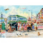 Puzzle  Cobble-Hill-54343 Pièces XXL - British Pier