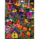 Puzzle  Cobble-Hill-54345 Pièces XXL - Janet Kruskamp - Birdhouses