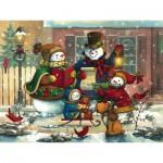 Puzzle  Cobble-Hill-54583 Janet Stever : Chanson de Saison