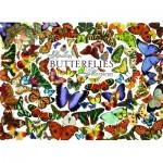 Puzzle  Cobble-Hill-57150 Papillons