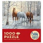 Puzzle  Cobble-Hill-57157 Trio de Chevaux