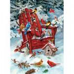 Puzzle  Cobble-Hill-57168 Oiseaux d'Adirondack