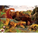 Puzzle  Cobble-Hill-58855 Dino Story