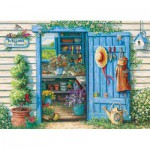 Puzzle  Cobble-Hill-70039 Janet Kruskamp : Bienvenue dans mon Jardin
