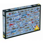 Puzzle  Piatnik-5380 Dogfight