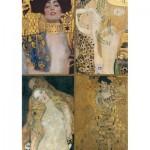 Puzzle  Piatnik-5388 Klimt Gustav : Collection d'oeuvres