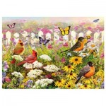 Puzzle  Piatnik-5468 Joyeux Jardin