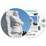 Pigment-and-Hue-RMLK-41213 Puzzle Rond déjà assemblé - Mémorial Martin Luther King