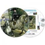 Pigment-and-Hue-RRENR-41205 Puzzle Rond déjà assemblé - Pierre Renoir : Femme à cheval