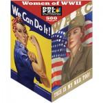 Pigment-and-Hue-XROSIE-01203 Puzzle Double Face - Les Femmes de la Seconde Guerre Mondiale