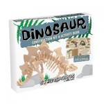 Professor-Puzzle-DC1346 Puzzle 3D en Bois - Stégosaure