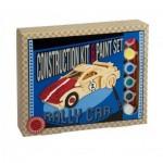 Puzzle 3D en Bois + Peinture - Rally Car