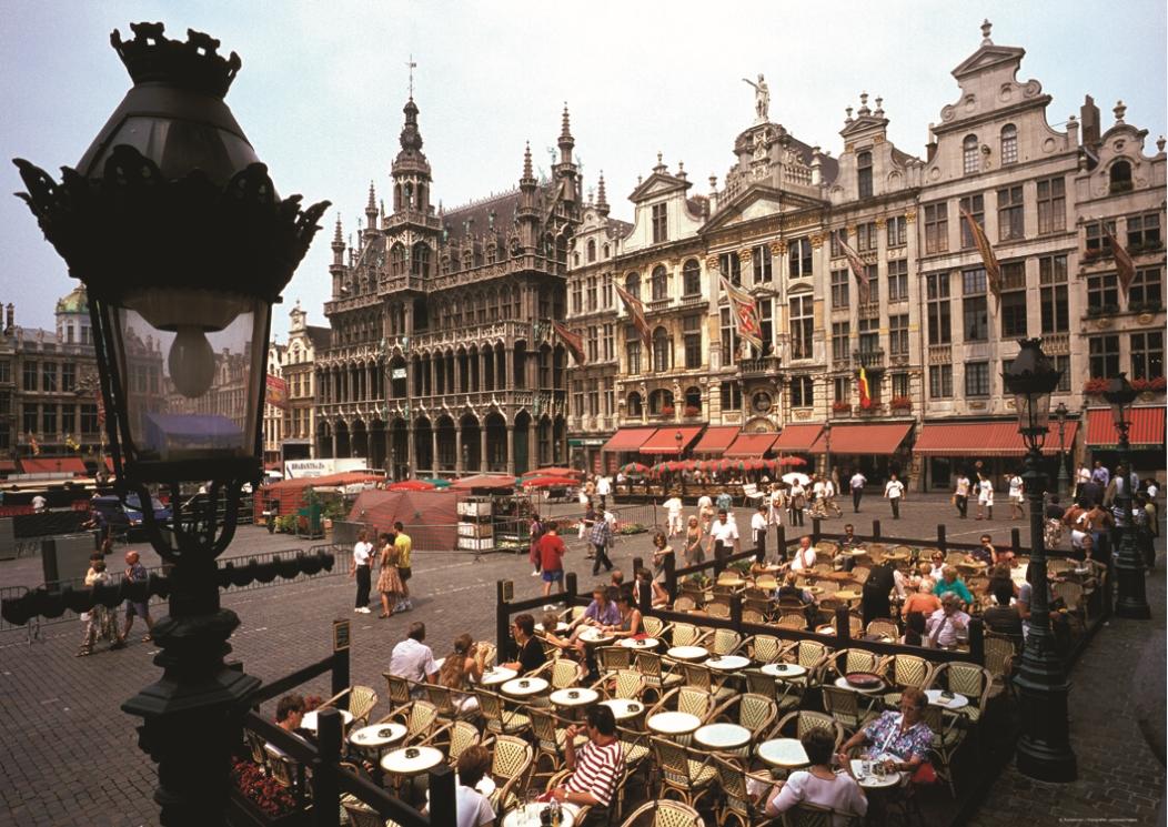 puzzle belgique bruxelles puzzelman 407 1000 pi ces puzzles villes et villages planet 39 puzzles. Black Bedroom Furniture Sets. Home Design Ideas