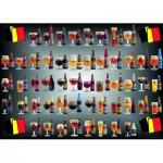 Puzzle  PuzzelMan-095 Bières de Belgique