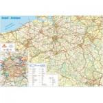 Puzzle  PuzzelMan-107 Carte routière de la Belgique