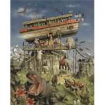 Puzzle  PuzzelMan-274 Marius van Dokkum : L'Arche de Noë