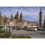 Puzzle  PuzzelMan-412 Belgique : Tournai